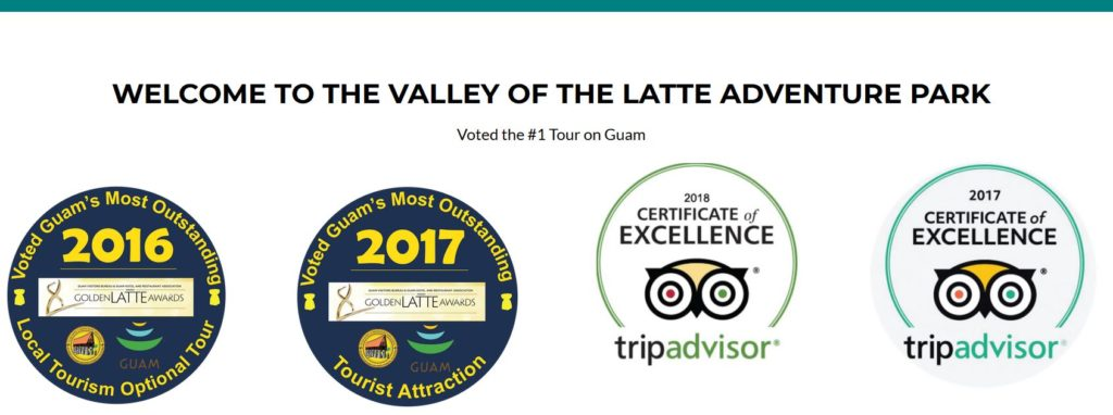 certificate of excellence, valley of the latte, guam's best tours, things to do on guam, tripadvisor