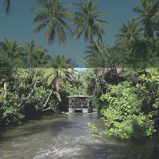 Guam's Adventure River Boat Cruise. Guam's Most Outstanding Tour