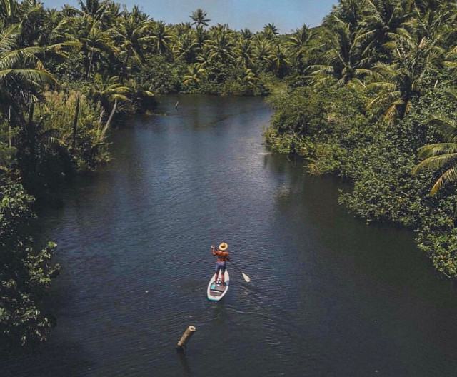Guam's Adventure Stand Up Paddle Boarding Tour Cultural Experience