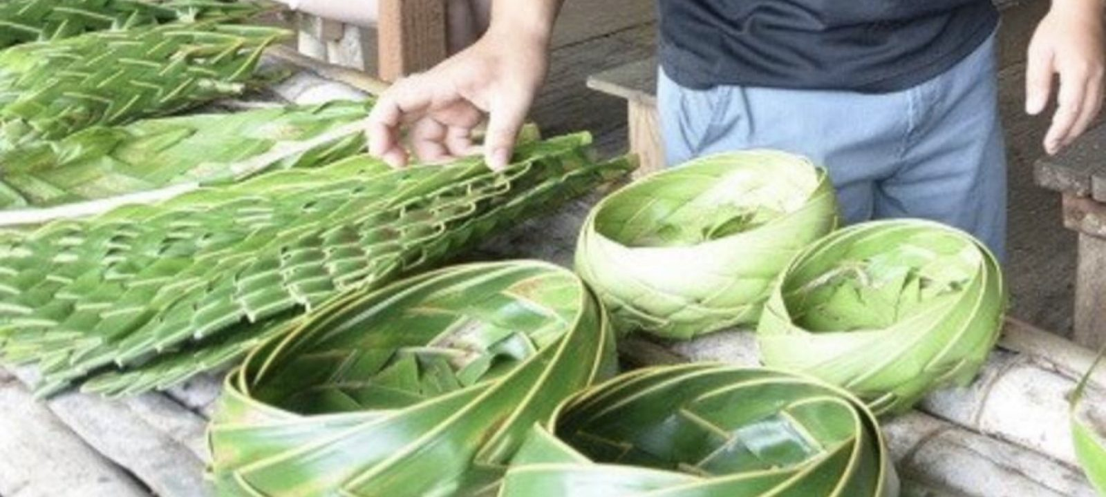 Coconut Leaf Weaving Workshops at the Valley of the Latte Guam