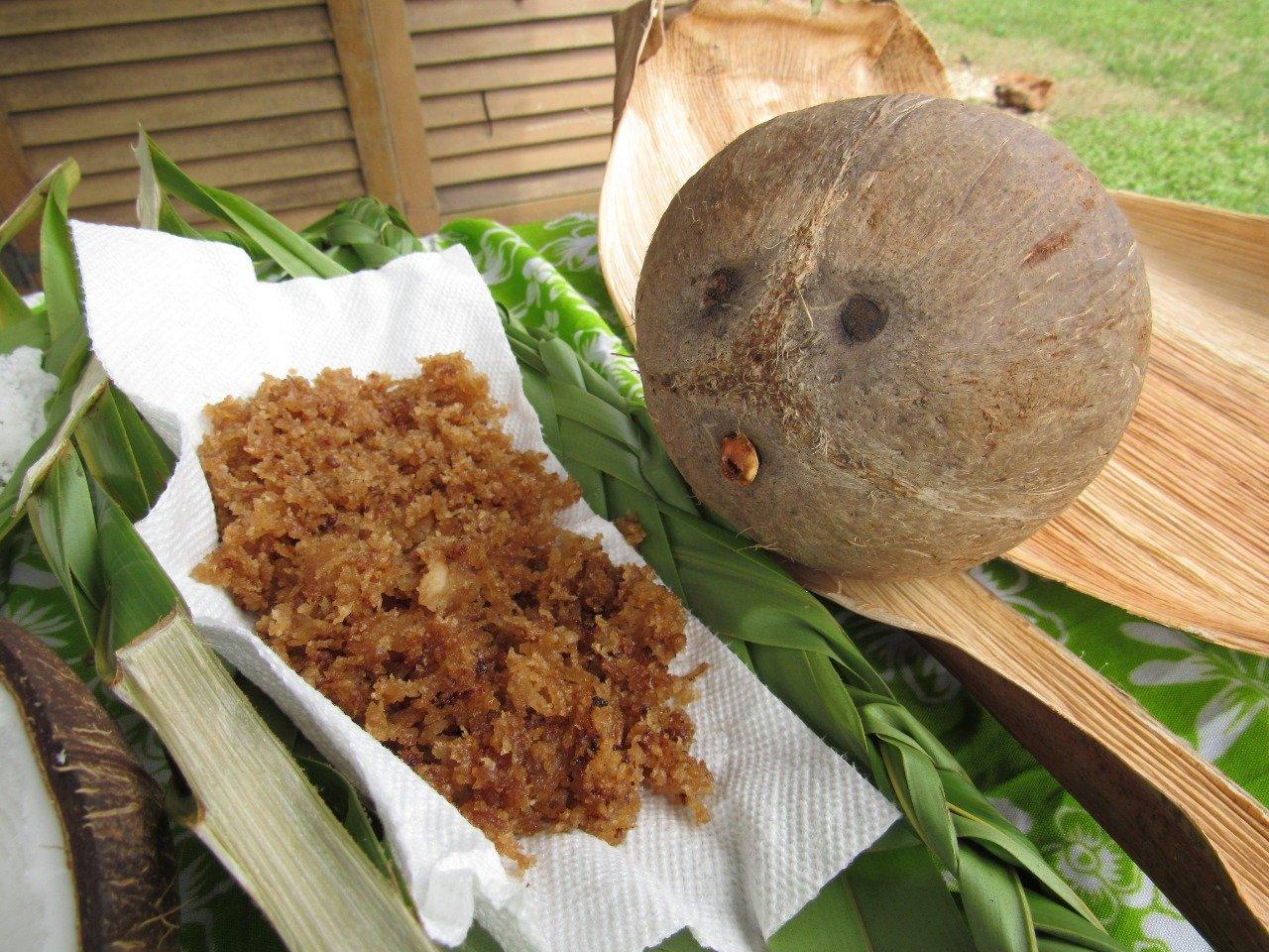 Kids Guam Summer Camp Coconut Candy Making