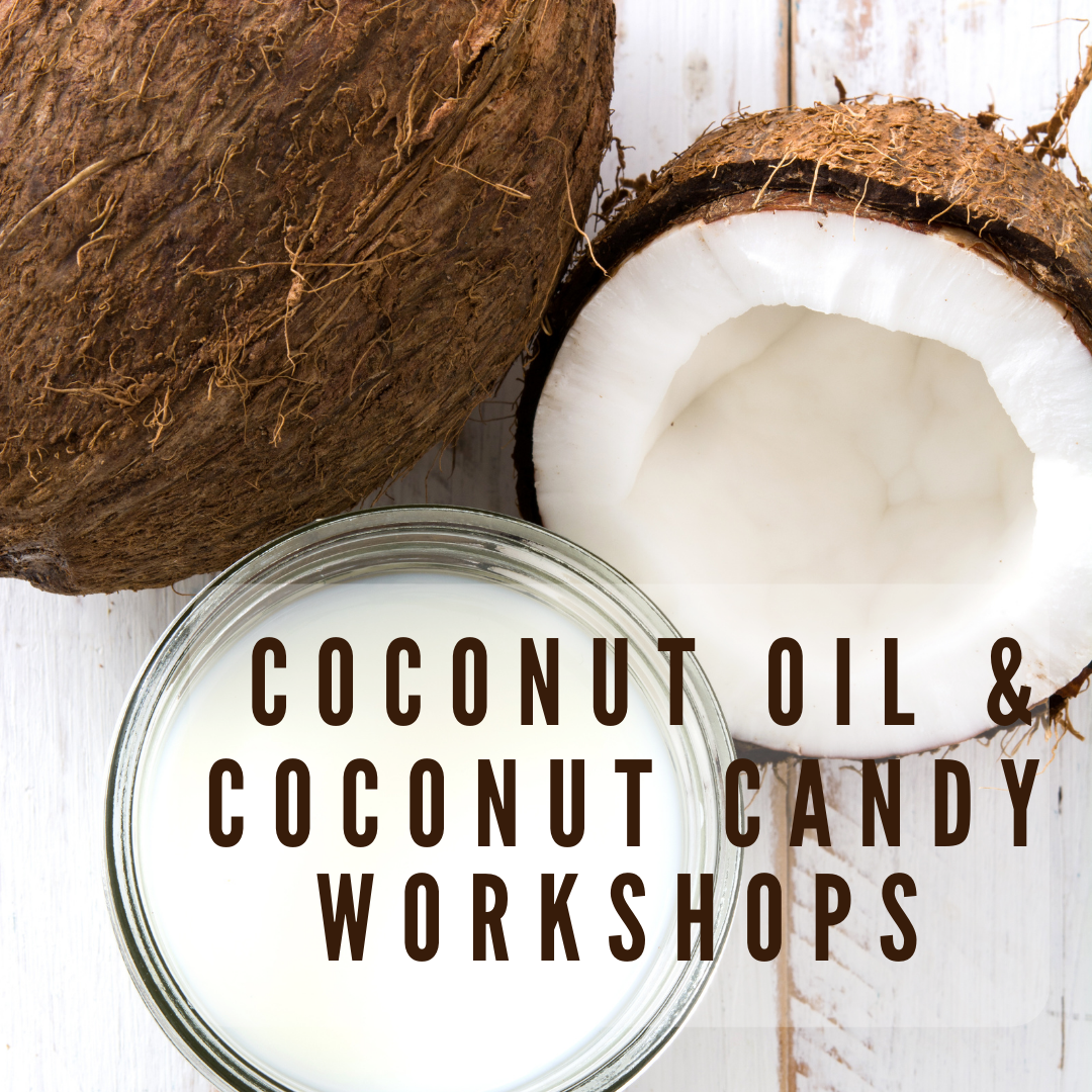 Things to do on Guam, Things to do on Guam, Coconut Oil & Candy Workshop flyer 1