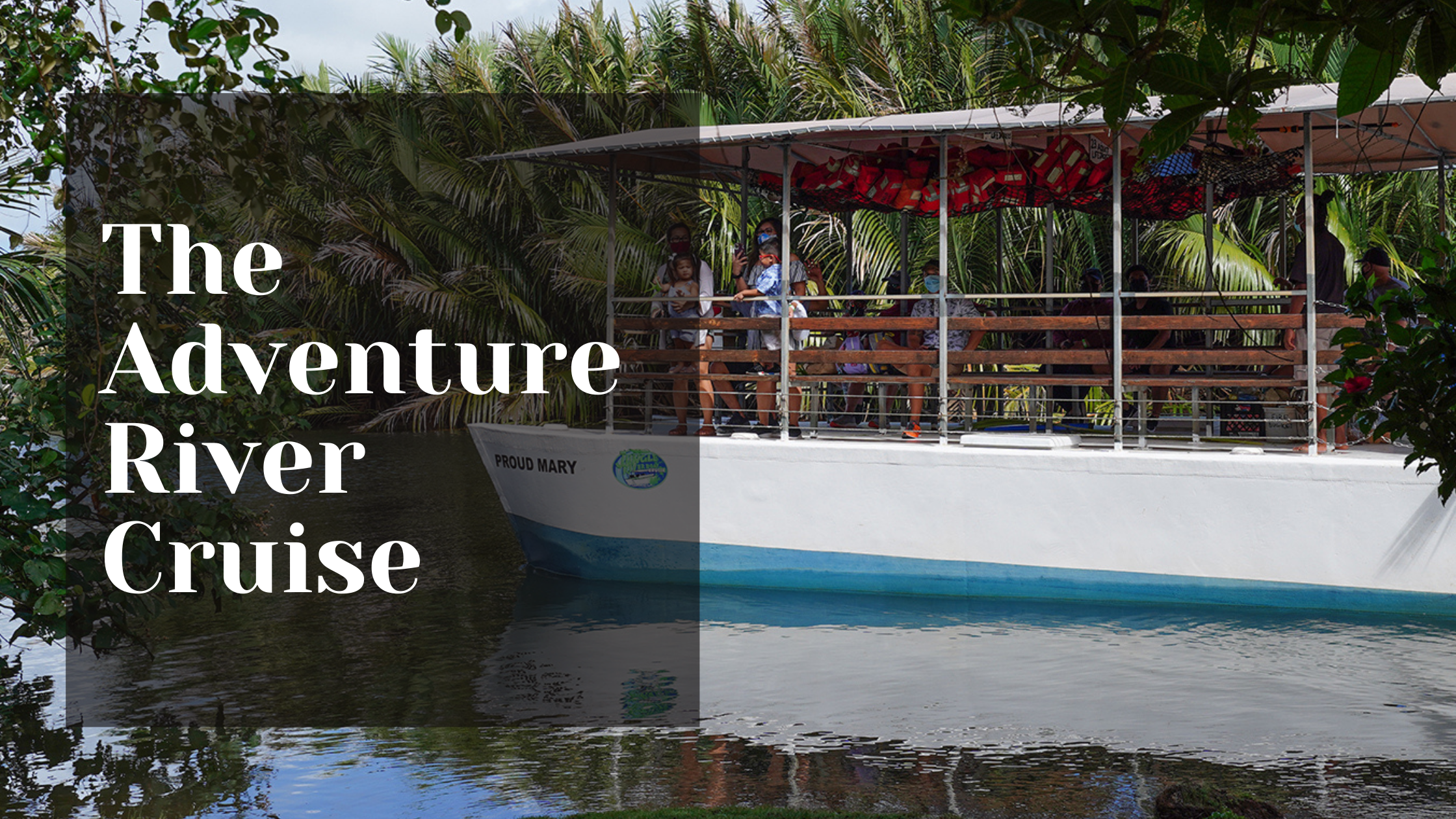 Celebrate Father's Day on Guam at the Valley of the Latte Guam Tours Adventure River Cruise and Kayaking