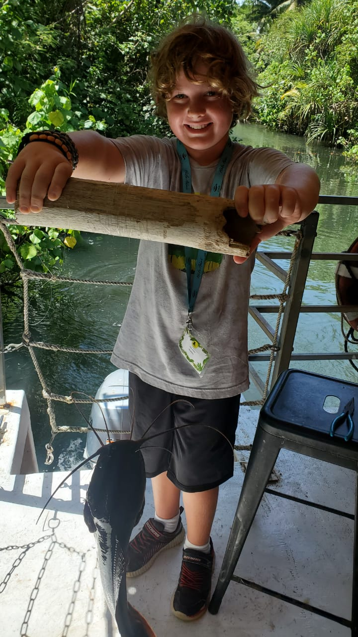 Handline fishing experience at the Valley of the Latte